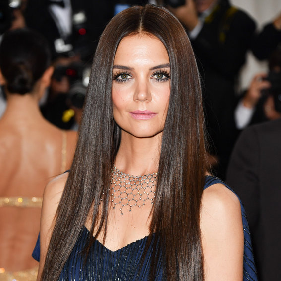 Groovy Katie Holmes39S Changing Looks Instyle Com Short Hairstyles Gunalazisus