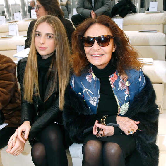 Stylish Celebrities Sitting Front Row at Fashion Week