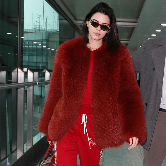 How Kendall and Bella Do (Airport) Runway Dressing