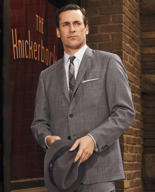 mad men giveaway win don draper�s suit instyle
