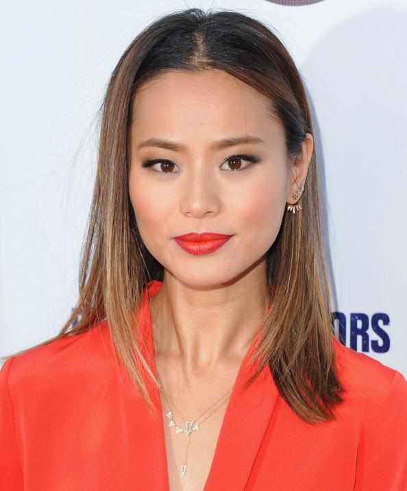 Here's How to Create Subtle Ombré Lips Like Jamie Chung