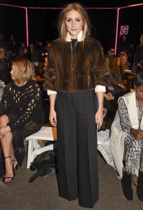 Olivia Palermo Does 3 Shows In 1 Day At Fashion Week