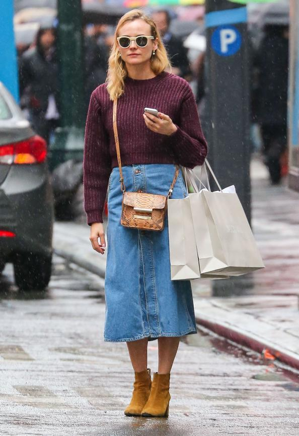 The 10 Best Button Front Denim Skirts