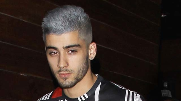 Zayn Malik Dyes His Hair Grey
