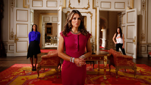 The Royals Elizabeth Hurley Talks Daytime Diamonds And