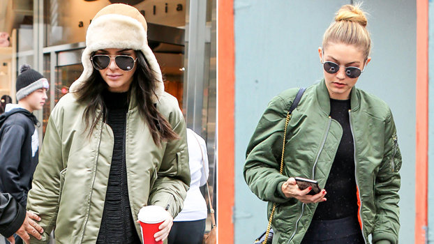 How To Wear A Bomber Jacket Like A Celebrity Celebrities In Bomber