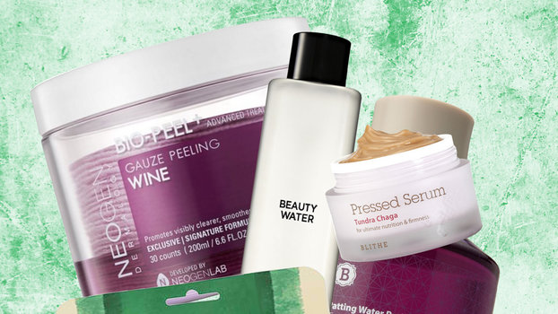 Best selling facial products