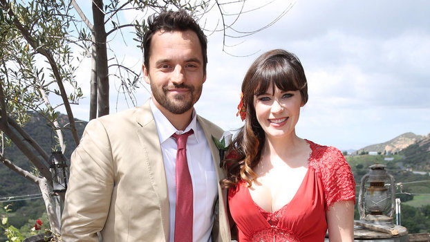 See Zooey Deschanel S Bridesmaid Dress From The New Girl