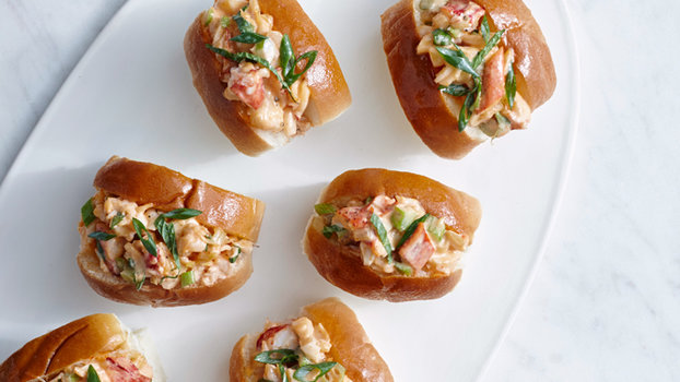 Mini Chili Lobster Rolls Recipe Instyle Com
