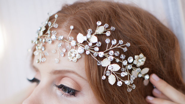 making hair styles bridal hair accessories headbands for bridesmaids 4689 | 061416 hair accessories lead