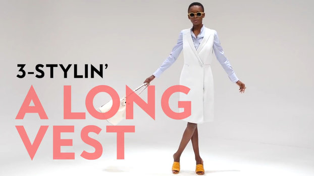3-Stylin': Three Ways to Style a Long Vest