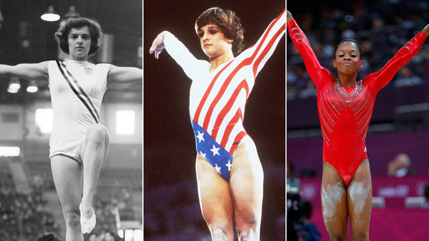 afd703d64340 See How Olympic Gymnastic Leotards Have Evolved