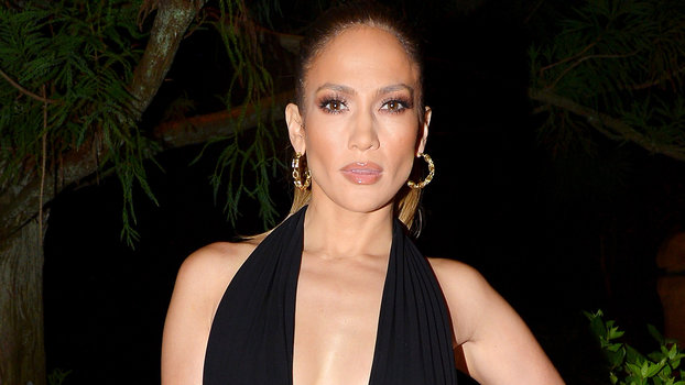Jennifer Lopez Takes the Plunge in a Navel-Grazing Little Black ...  InStyle. Jennifer Lopez has outdone herself once again. The 47-year-old  singer went out ... 482c05f4e