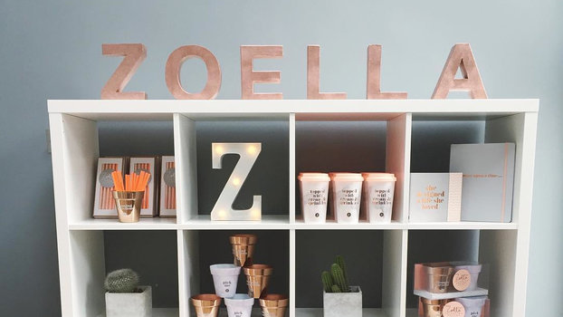 Zoella Line Drawing : Zoella lifestyle brand instyle