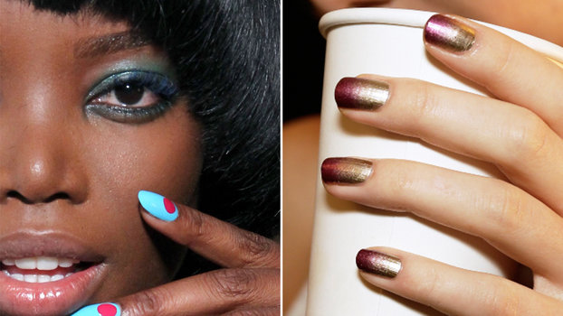 See The Coolest Manicures From New York Fashion Week
