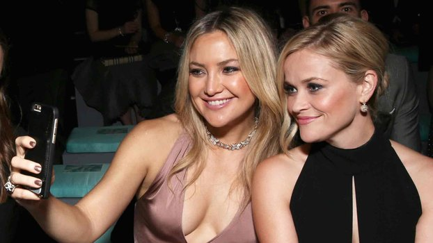 Kate Hudson and Reese Witherspoon Drip in Diamonds at Tiffany & Co.'s Beverly Hills Party