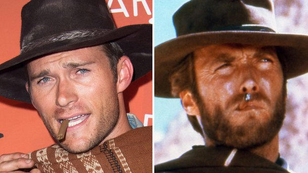 Scott Eastwood Channels His Dad Clint Eastwood At Costume