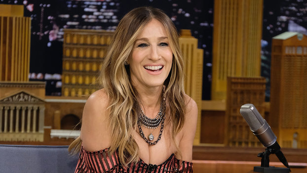 Sarah Jessica Parker's Trick to Pairing Tights with Open ...