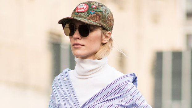 Shop the Baseball Cap Trend With These 17 Chic Picks  8b2ff9b1ee6c