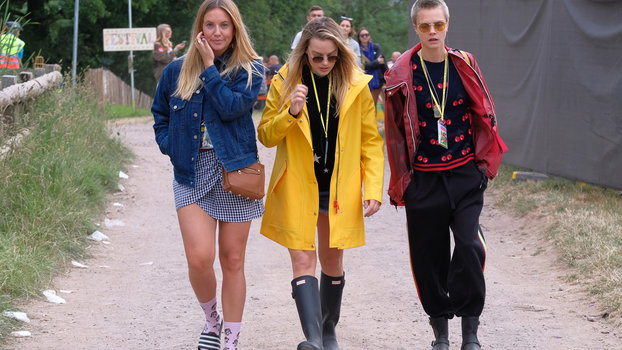 Glastonbury Fashion Festival Outfit Inspiration From The Celebrities