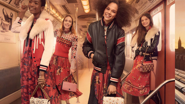 Subway Delays Just Got Real Chic Thanks to Coach's Fall 2017 Ad Campaign