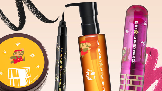 This Super Mario Makeup Collection Is the Stuff Our 8-Bit Dreams Are Made Of