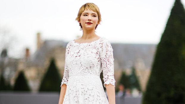 PARIS, FRANCE - MARCH 03:  Haley Bennett attends the Christian Dior show, as part of the Paris Fashion Week Womenswear Fall/Winter 2017/2018, on March 3, 2017 in Paris, France.  (Photo by Edward Berthelot/Getty Images)