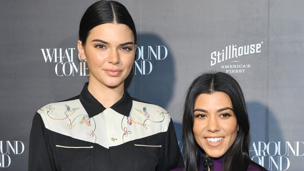 It Was Sister's Night Out for Kendall Jenner and Kourtney Kardashian At This L.A. Fashion Party