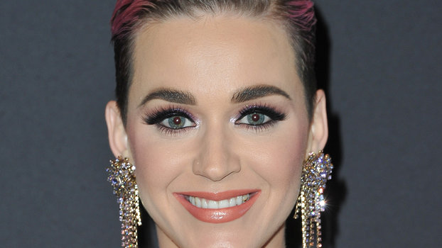 See Katy Perry's New Long Black Hair