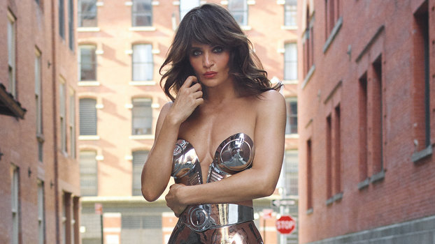 fashion editor: Julie Pelipas; hair: Harry Josh/Statement Artists; makeup: Hung Vanngo/The Wall Group; manicure: Honey/Exposure NY; production: Sister Productions; model: Helena Christensen/ONE Management