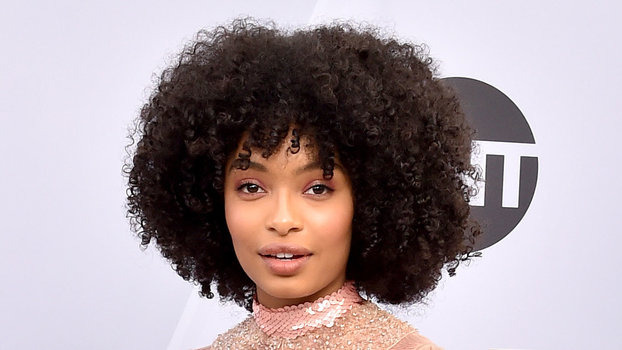 InStyle's Look of the Day picks for January 28, 2019 include Yara Shahidi, Celine Dion and Lady Gaga.
