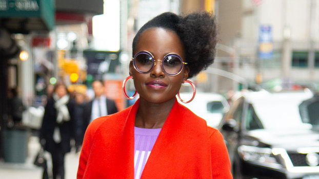 Lupita Nyong'o's Latest Outfit Is a Stylish Lesson in Color Mixing