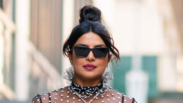 Priyanka Chopra Wore A Naked Dress In The Middle Of The Day  Instylecom-2673