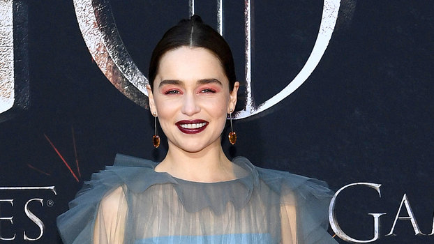 InStyle's Look of the Day picks for April 04, 2019 include Emilia Clarke, Gwendoline Christie and Nathalie Emmanuel.