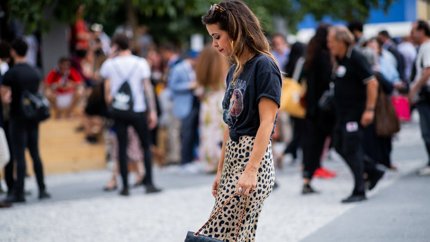 The Instagram Account Proves It's Not Your Imagination — Everyone IS Wearing a Leopard Midi Skirt