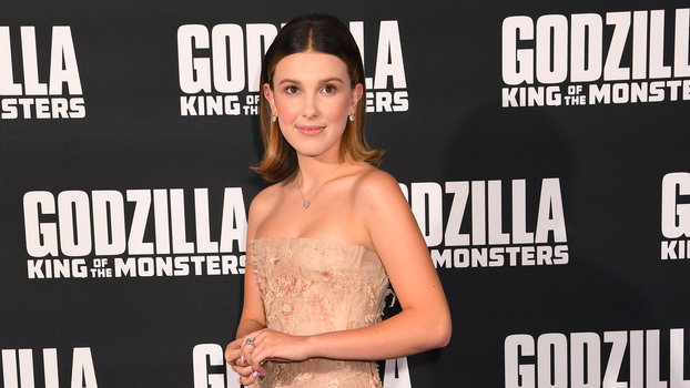 The star went classic for a London screening ofGodzilla: King of the Monsters.