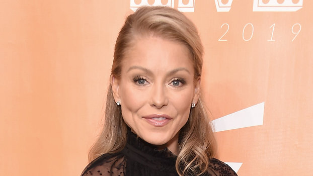 Kelly Ripa Demonstrates an Elegant Way to Wear Sheer Dresses | InStyle.com