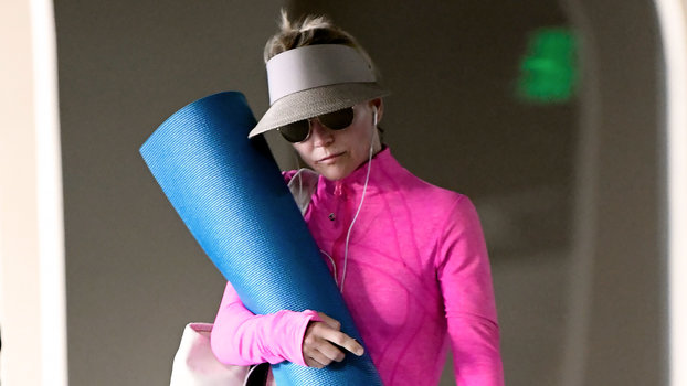 Lori Loughlin Has Been Wearing the Same Strange Workout Outfit For Months
