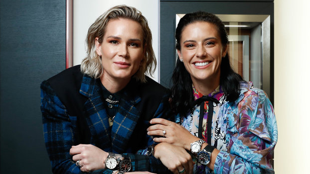 Ashlyn Harris and Ali Krieger for TAG Heuer