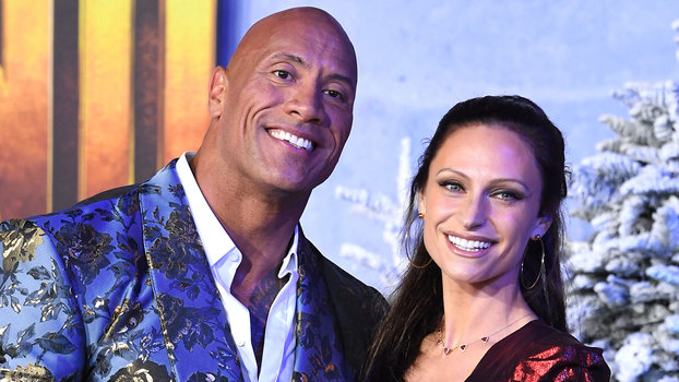 Dwayne Johnson and Wife Lauren Hashian Coordinated in the Perfect Holiday Party Outfits