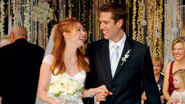 Celebrity Wedding Alyson Hannigan Amp Alexis Denisof