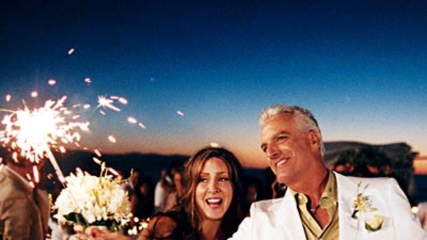Celebrity Wedding: Joely Fisher & Christopher Duddy