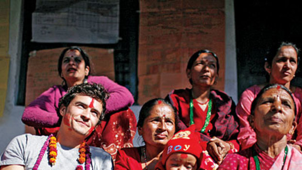 Orlando Bloom Visits Nepal