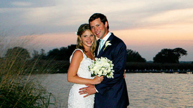 Celebrity Wedding: Jenna Bush & Henry Hager