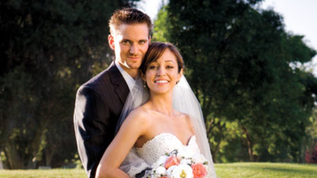 Celebrity Wedding Autumn Reeser Amp Jesse Warren Instyle Com