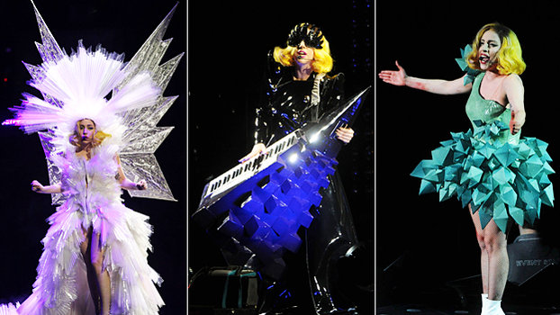 See Lady Gaga S Crazy Monster Ball Tour Costumes Instyle Com