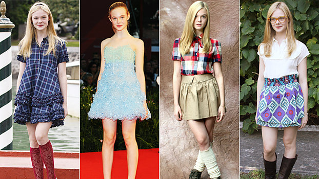 Elle Fanning Fashions Newest Style Star InStylecom