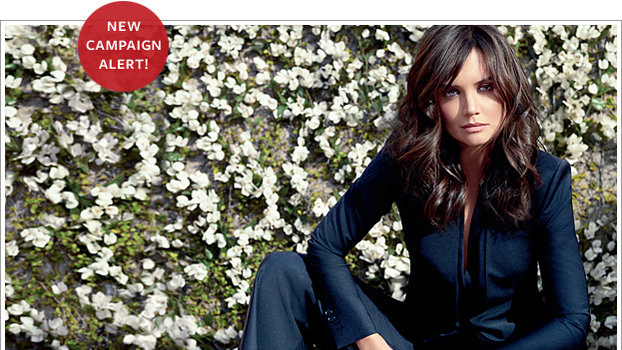 Katie Holmes Is The New Face Of Ann Taylor InStylecom