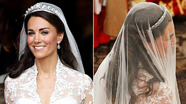 Kate Middleton Wedding Hair Down Do Photo Royal