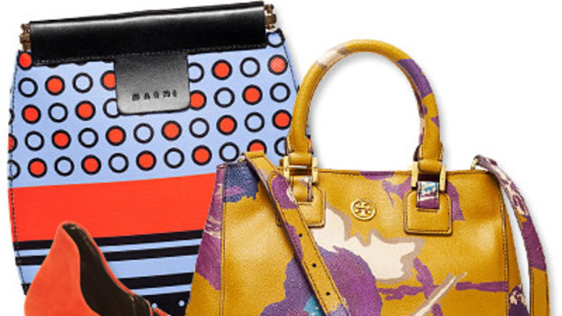 The Season's Most Vibrant Bags and Shoes